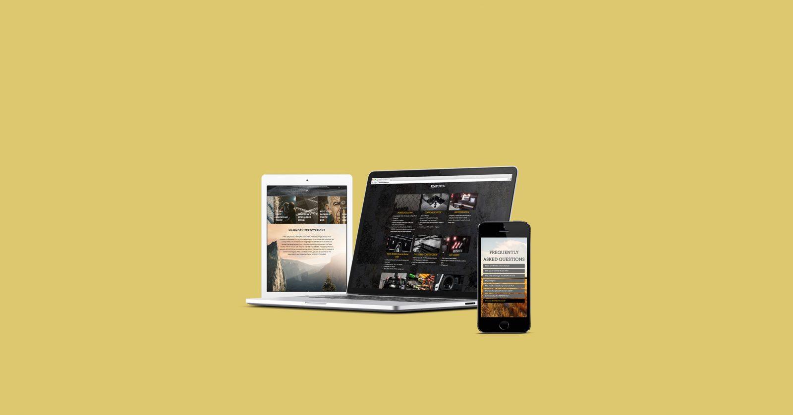 Bedrock Website