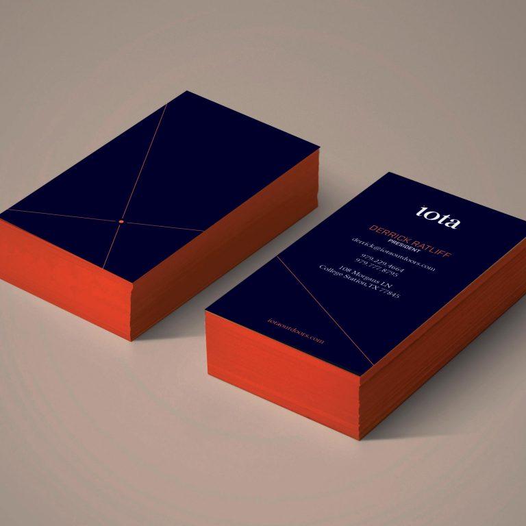 Iota Business Cards